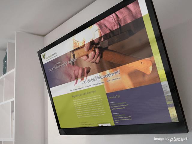 Website successie in bedrijf
