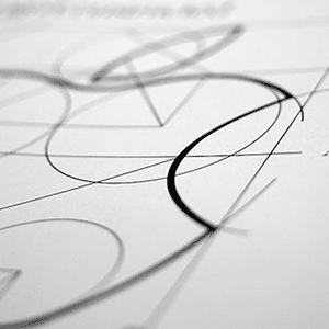 Er komt veel kijken bij het ontwerpen van een logo.