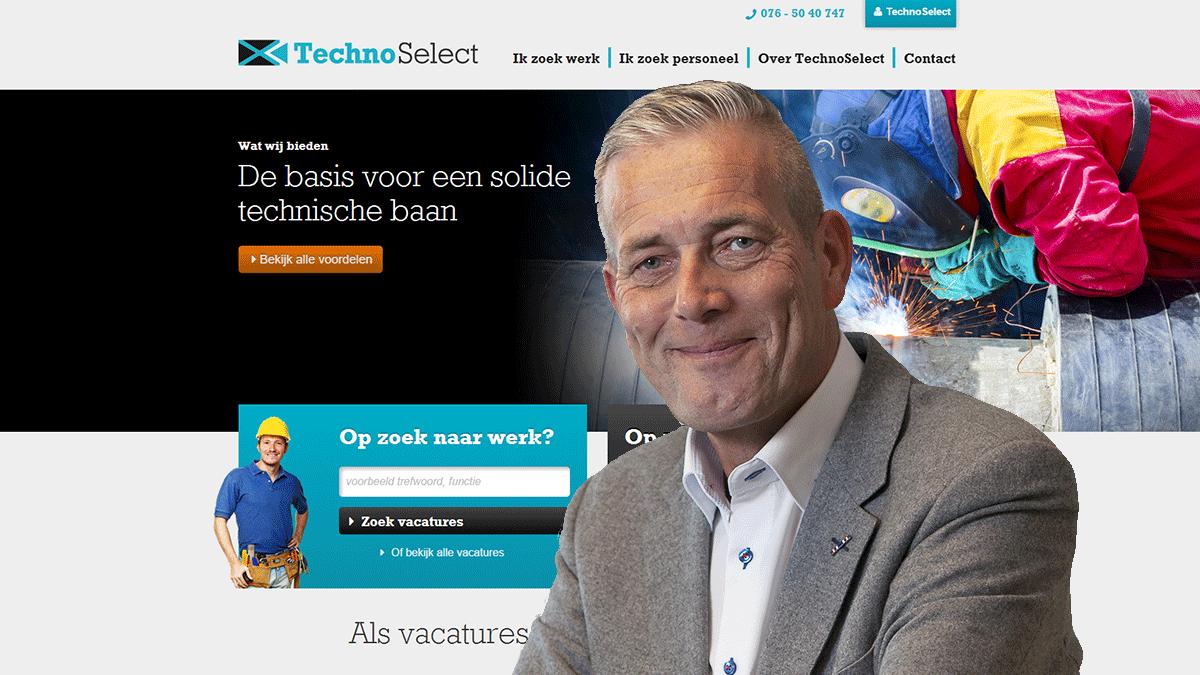 TechnoSelect: doordachte website vanuit een duidelijke strategie