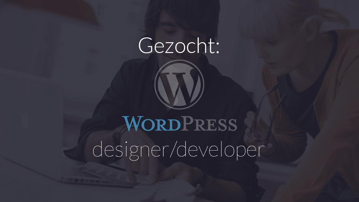 Ben jij een echte WordPress professional of zit je nog op school en wil je een uitdagende bijbaan?